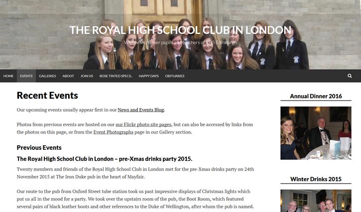 Royal High School Club in London